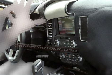 SPY SHOTS! A Look at the 2015 F-150's Interior