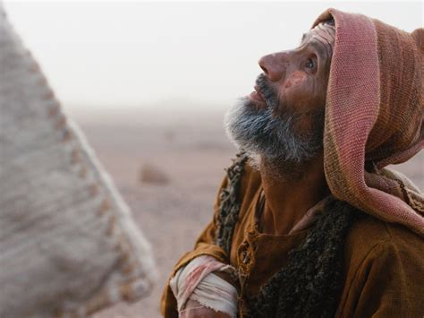 FreeBibleimages :: Jesus heals a man with leprosy :: Jesus