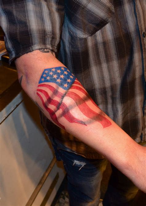 American Flag Tattoos Designs, Ideas and Meaning | Tattoos