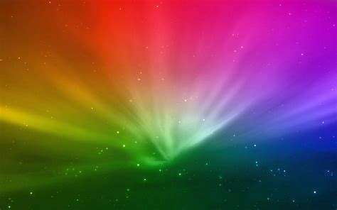 Multi-colored rays of light wallpapers and images