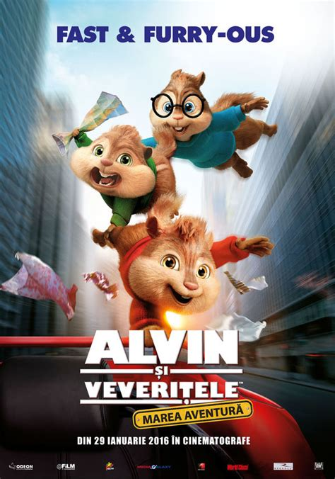 Alvin and the Chipmunks: The Road Chip - Alvin și