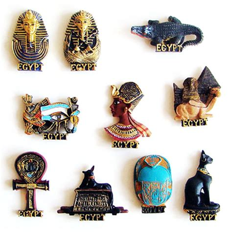 Egypt Pharaoh Mystery Sign 3D Fridge Magnets Tourism