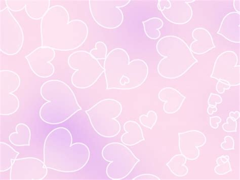 Pale Pink Heart Background Free Stock Photo - Public