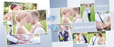 Free photo collage program: Create collages simply online