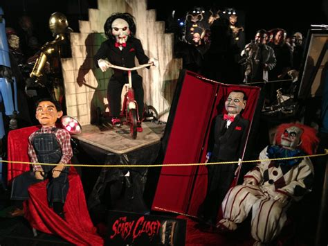 Scary Closet puppet collection   Evil puppet props created