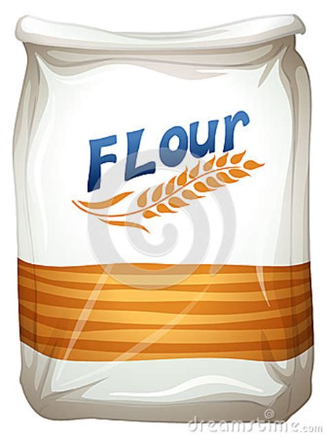 A Packet Of Flour Stock Vector - Image: 41601583