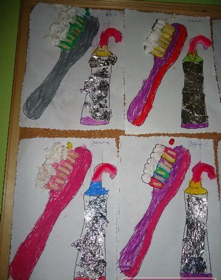 Dental health craft idea for kids | Dental health crafts