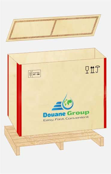 Shipping crates ISPM15| DOUANE GROUP ROMANIA