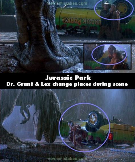 Jurassic Park (1993) movie mistake picture (ID 117189)