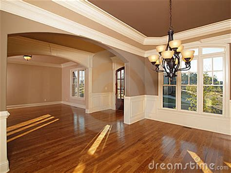 Model Luxury Home Interior Front Entrance Rooms Royalty