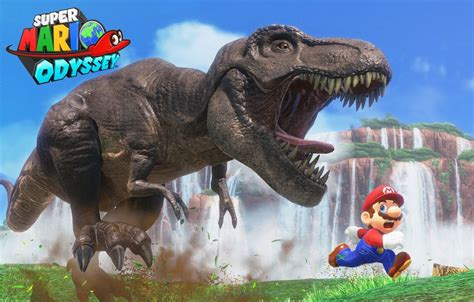 File:SMO T-Rex Chase