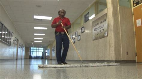 Meet The Singing High School Janitor Who Brings Music to