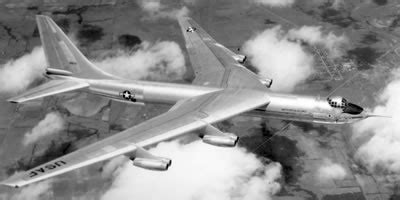 Convair YB-60 jet bomber, the swept-wing version of the B